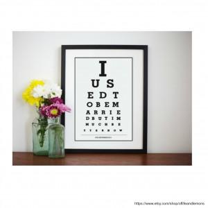 divorce eye chart