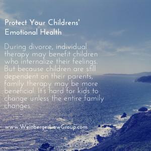 divorce therapy for children