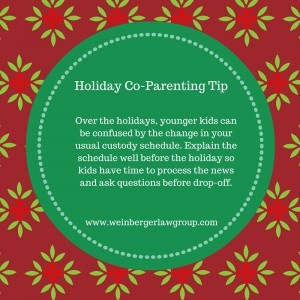 holiday coparenting