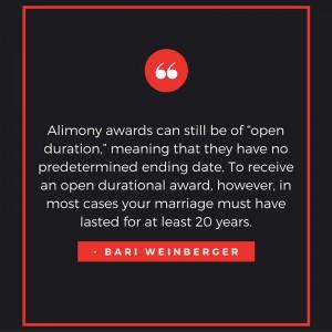 lifetime alimony