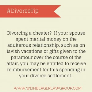 divorcing a cheater