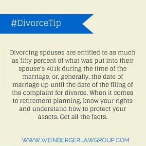 401k and divorce