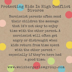 high conflict divorce and kids