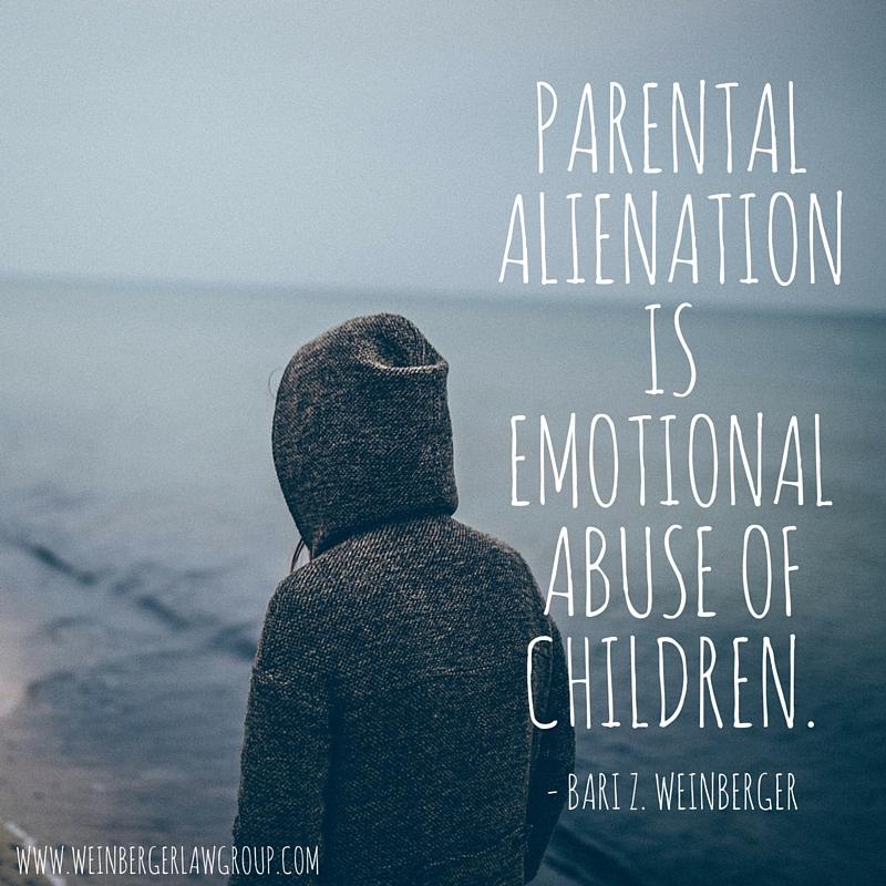 Get help for parental alienation