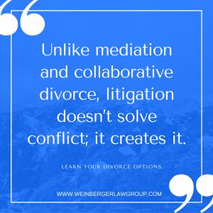 Mediation and litigation
