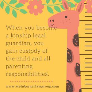 kinship legal guardian