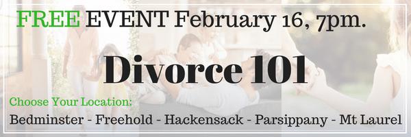 FREE Divorce 101 Seminar