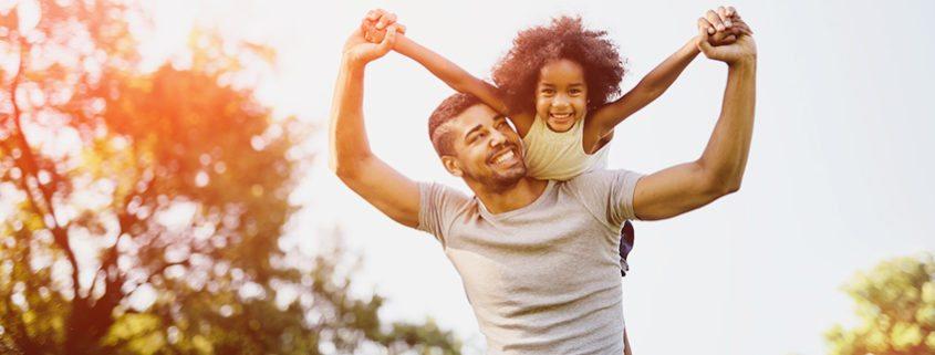 divorced dad & daughter parenting time