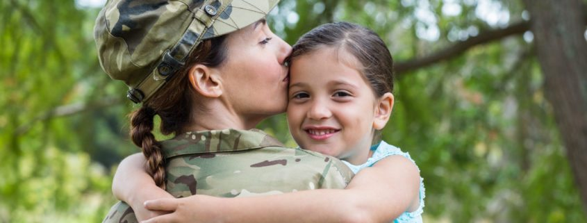military custody and parenting time