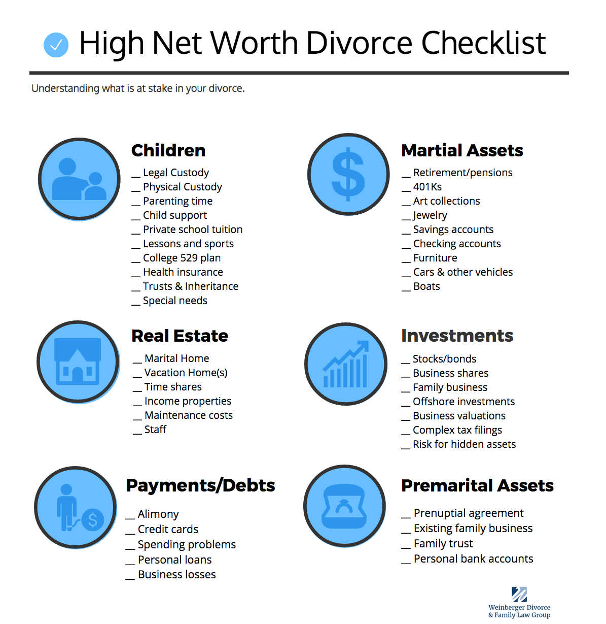 high net worth divorce