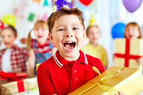 co-parenting post-divorce birthday party